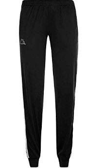 Kappa Women's Slim Fit Pants, Black
