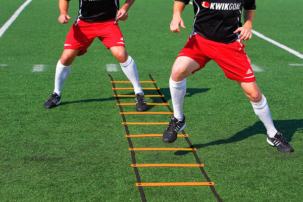 KwikGoal Orange Agility Ladder