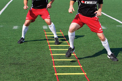 KwikGoal Yellow Agility Ladder