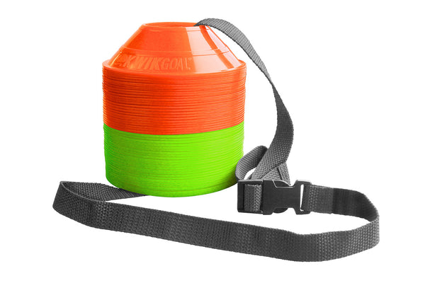 KwikGoal Mini Cone Kit, Orange & Green Cones