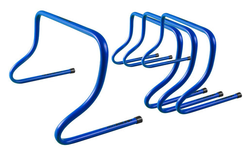 KwikGoal 12'' Blue Speed Hurdles