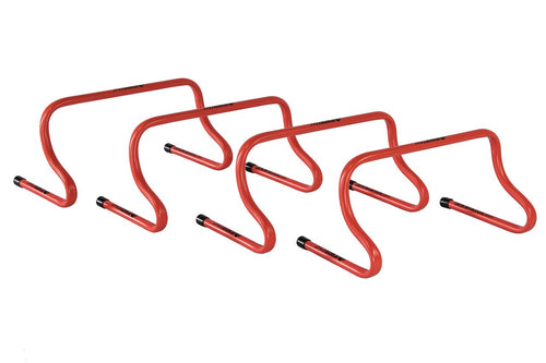 KwikGoal 9'' Speed Hurdles, Red