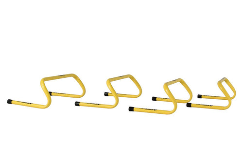 KwikGoal 6'' Yellow Speed Hurdles