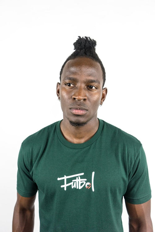 LBF Futbol Script T-Shirt, Forest Green