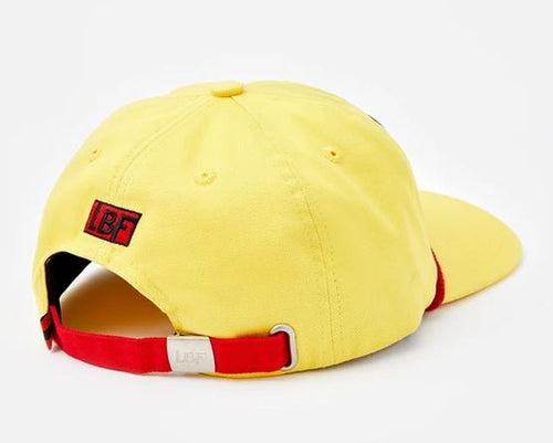 LBF Rope Cap, Yellow, Back View