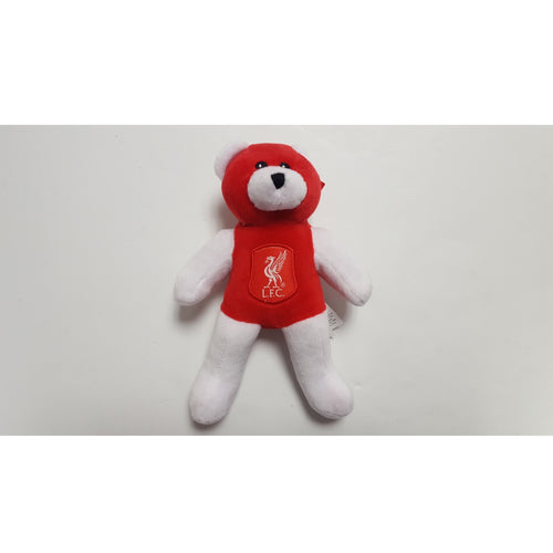 Liverpool Red & White Plush Beanie Bear