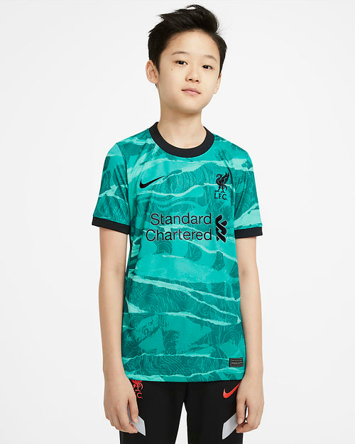 Kids Liverpool Away Soccer Jersey 20/21