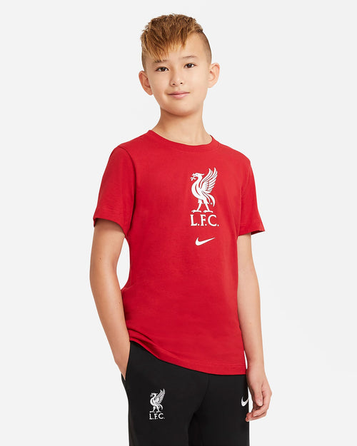 Kids Liverpool Evergreen T-Shirt - Red