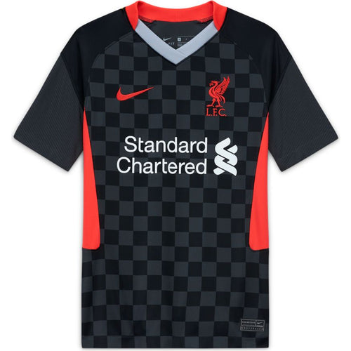 Liverpool Third Soccer Jersey 20/21, Kids, Front View