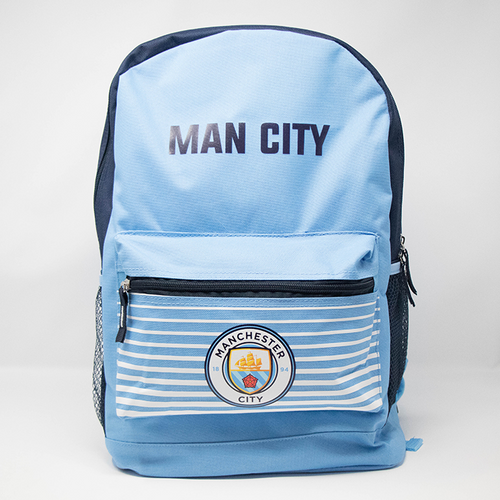 Manchester City Club Backpack, Sky Blue, Front