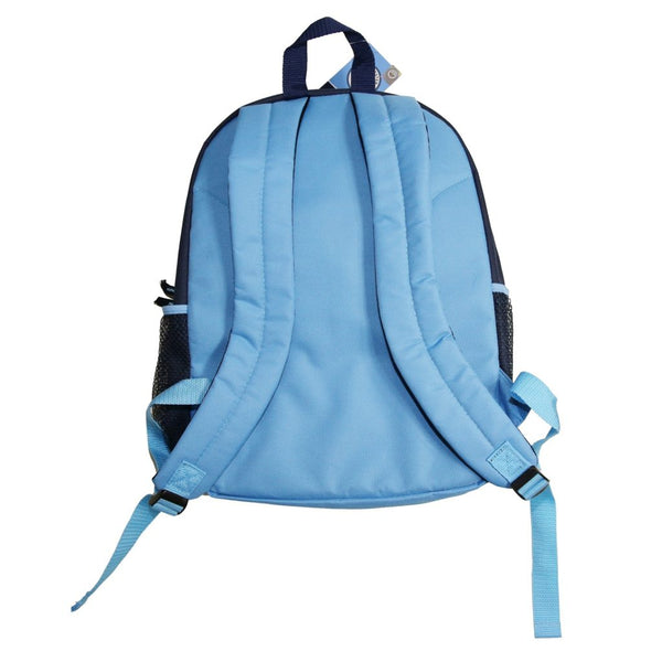 Manchester City Club Home Backpack, Sky Blue, Back View