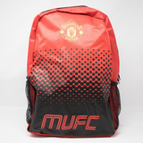 Manchester United Club Backpack, Red & Black, Front