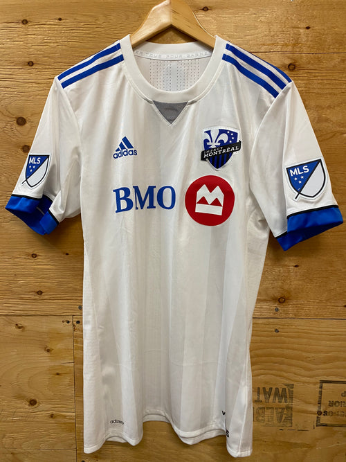 Men's Adidas Montreal Impact Away Authentic Soccer Jersey (2017)