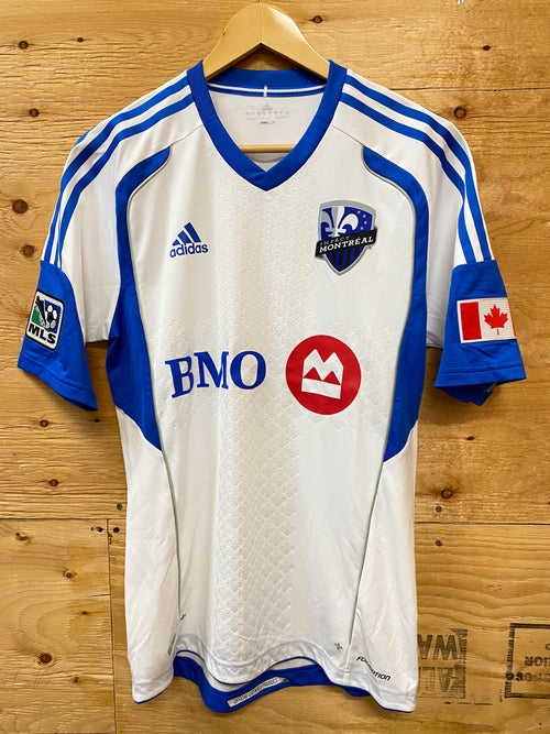 Men's Adidas Montreal Impact Away Authentic Soccer Jersey (2012)