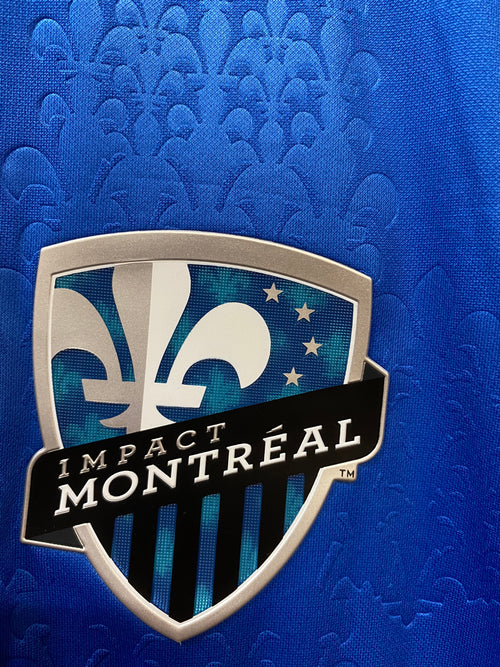 Men's Adidas Montreal Impact Home Authentic Soccer Jersey (2014)