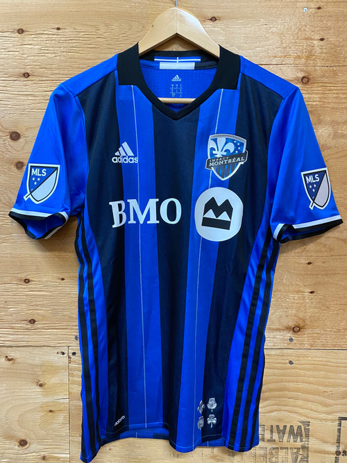 Men's Adidas Montreal Impact Home Authentic Soccer Jersey (2016)