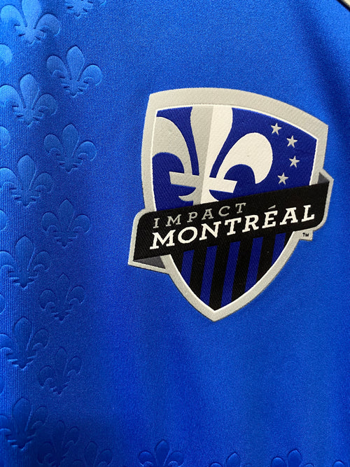Men's Adidas Montreal Impact Home Authentic Soccer Jersey (2012)