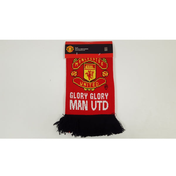 Manchester United Red Club Glory Scarf '17