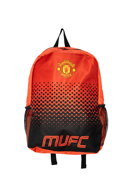 Manchester United Club Backpack, Red & Black