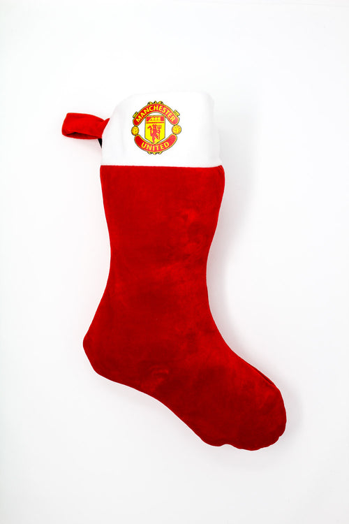 Manchester United Christmas Stocking, Red