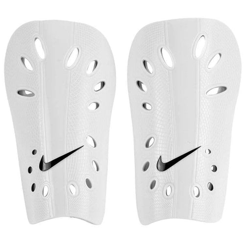 Nike J Guard Shin Guards, White, Front View