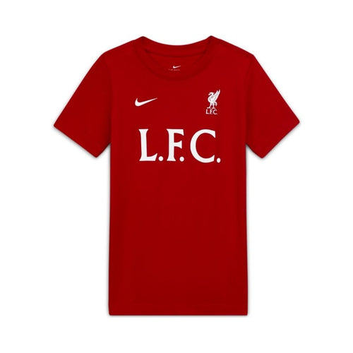 Kids Liverpool Core T-Shirt - Red