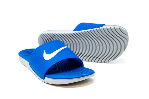 Nike Youth Kawa Slide, Blue