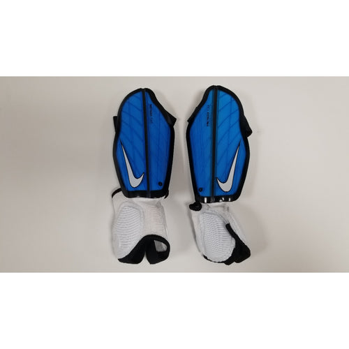Nike Protegga Flex Youth Shin Guards, Blue, Front View