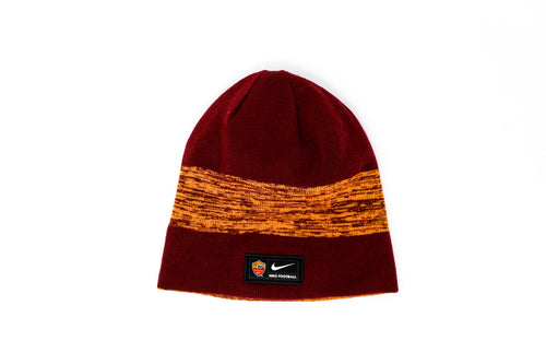 Nike AS Roma Red & Yellow Reversible Beanie