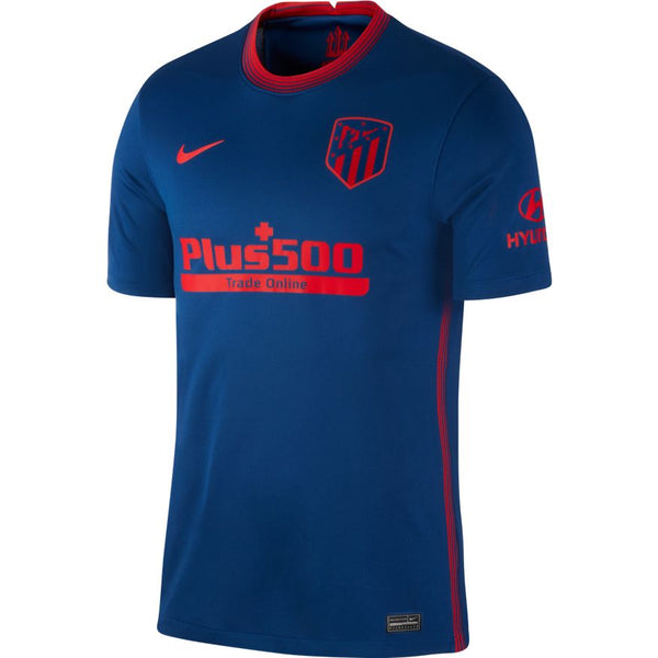 Atletico Madrid Away Soccer Jersey 20/21, Adult, Front View