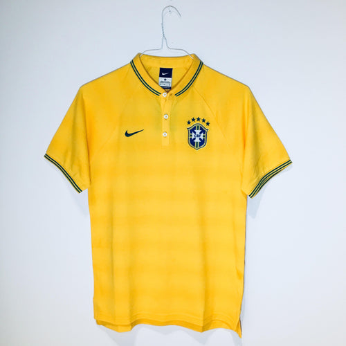 Nike Brazil World Cup 2014 Polo, Yellow