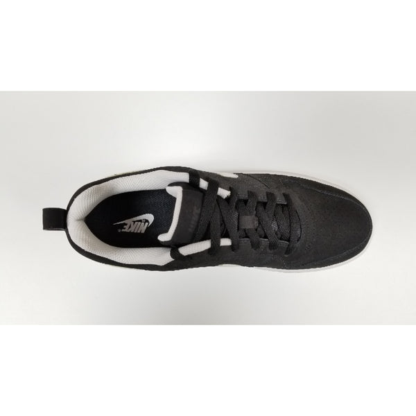Nike Court Low, Black, Aerial View