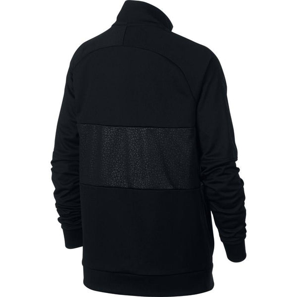 Nike CR7 Dri-Fit Youth FZ Jacket, Black, Back View