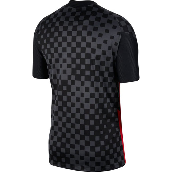 Croatia Euro 2020 Away Soccer Jersey, Adult, Back View