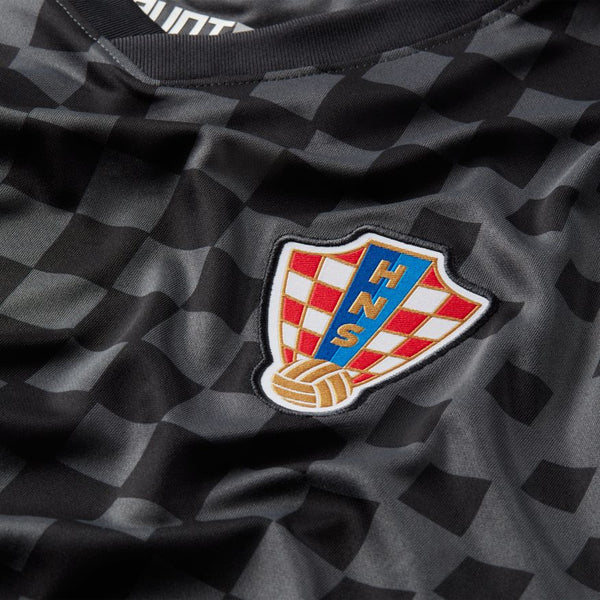 Croatia Euro 2020 Away Soccer Jersey, Adult, Chest View