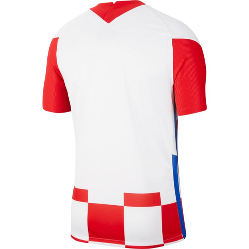 Croatia Euro 2020 Home Soccer Jersey, Adult, Back View