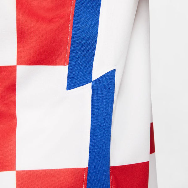 Croatia Euro 2020 Home Soccer Jersey, Adult, Side View