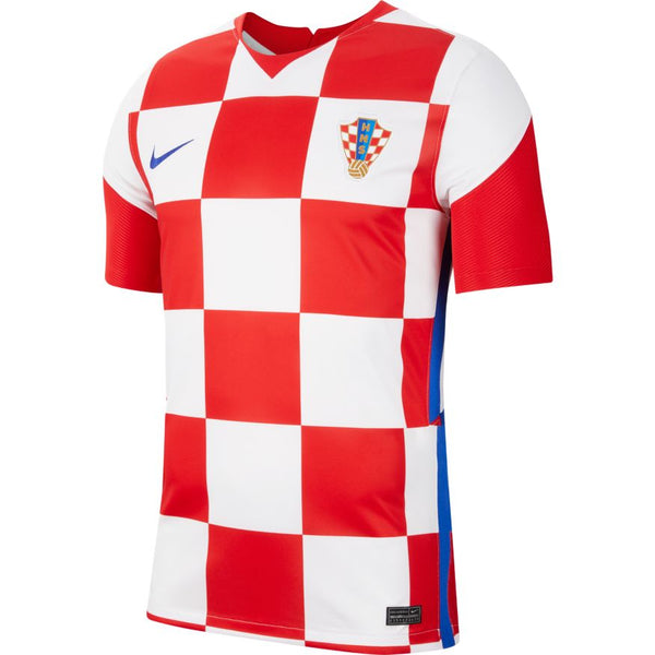 Croatia Euro 2020 Home Soccer Jersey, Adult, Front View