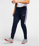 navy nike soccer pants with a tailored fit