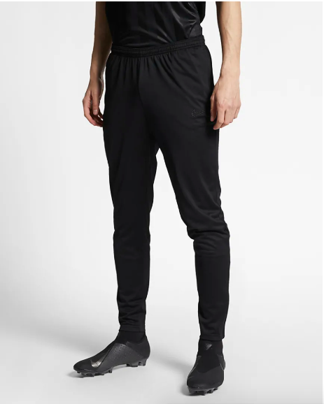 black nike skinny training pants