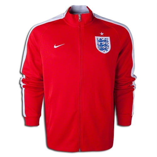 Nike England N98 Track Jacket, Long Sleeve, Red
