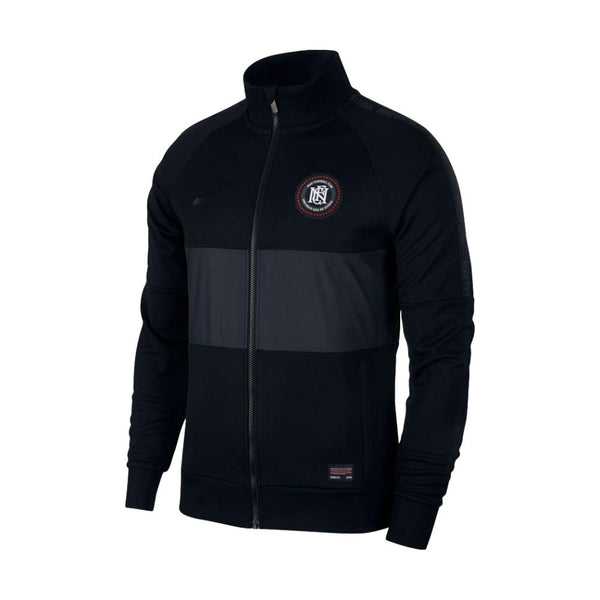 Nike F.C. Full-Zip Track Jacket, Long Sleeve, Black