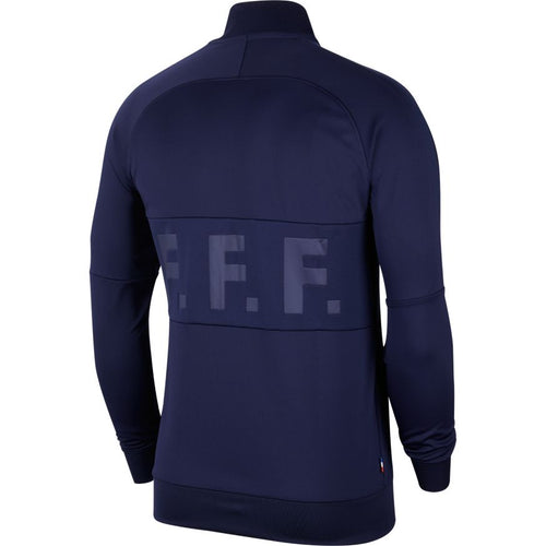 France Euro 2020 I96 Anthem Jacket, Adult, Back View