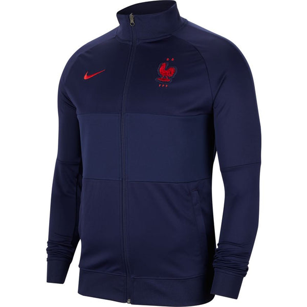 France Euro 2020 I96 Anthem Jacket, Adult, Front View