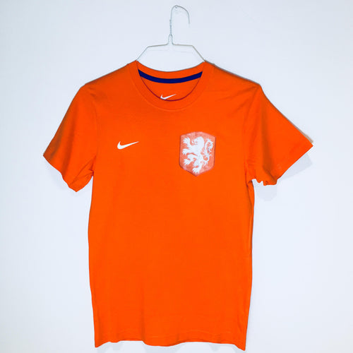 Nike Holland Core T-Shirt 2012, Short Sleeve, Orange