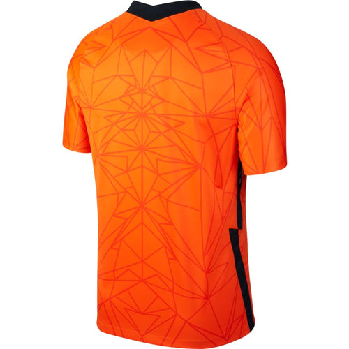 Holland Euro 2020 Home Soccer Jersey, Adult, Back View