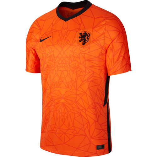 Holland Euro 2020 Home Soccer Jersey, Adult, Front View