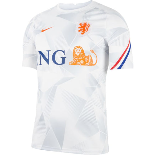 Holland Euro 2020 Pre-Match Training Jersey, Adult, Front View