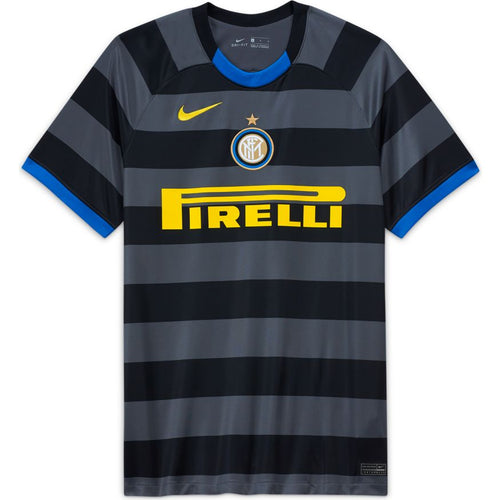 Inter Milan Third Soccer Jersey 20/21, Adult, Front View