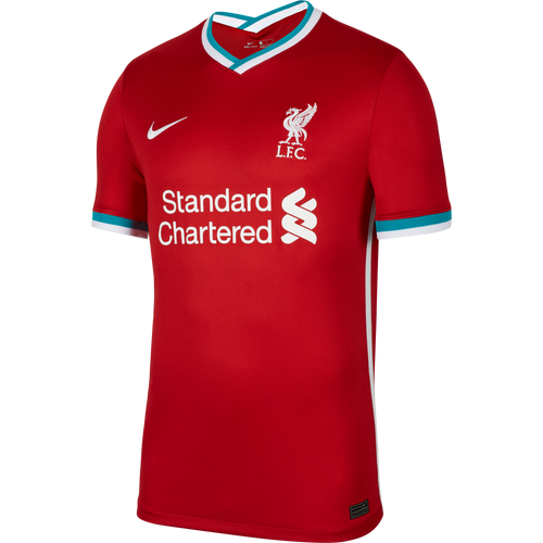 Liverpool Home Soccer Jersey 20/21, Adult Size, Front View